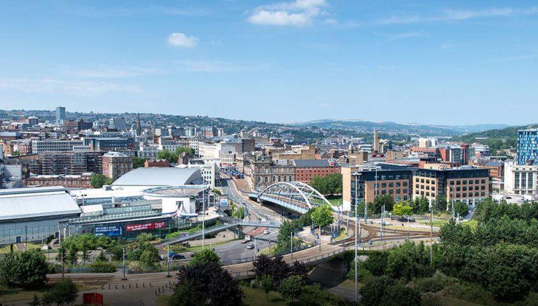 SheffieldCitySkyline - © Wikimedia